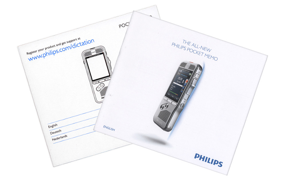 Philips Pocket Memo 8100 Digital Dictation Portable Recorder