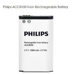 Philips ACC8100 Li-ion Rechargeable Battery - New