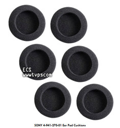 SONY 4-941-270-01 Ear Pad Cushions for MDR-24, MDR-34 & MDR-64 - New