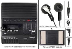 Panasonic RR-830 Standard Cassette Transcriber - Pre-Owned