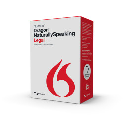 Nuance® Dragon® Naturally Speaking Legal Version 13 Upgrade from Professional 11 and up
