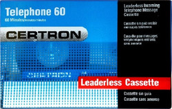 Certron T60 60 Minutes Standard Dictation Cassette Tapes 5 Pack