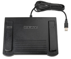ECS Case CATalyst USB Transcription Foot Pedal