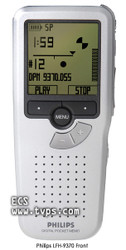Philips 9370 Digital Voice Portable Recorder - Bare Unit