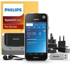 Philips SpeechAir Smart Voice Recorder with SpeechExec Pro Dictate Software