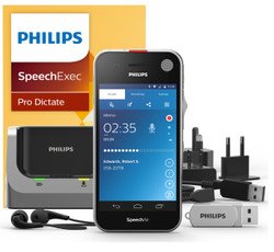 Philips SpeechAir Smart Voice Recorder with SpeechExec Pro Dictate Software