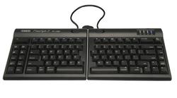 Kinesis Freestyle2 for Mac KB800HMB-US Ergonomic Split Keyboard for Mac