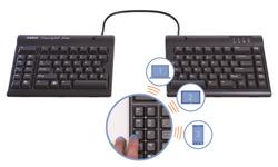 Kinesis Freestyle2 BlueTM - MultichannelTM Bluetooth for PC keyboard