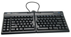 Kinesis Freestyle2 for Mac KB820HMB-US Ergonomic Split Keyboard for Mac