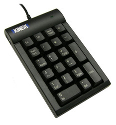 Kinesis AC210USB-BLK Low-force Keypad for PC