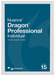 Nuance® Dragon® Professional Individual Version 15 Digital Upgrade from Professional Version 12 and up