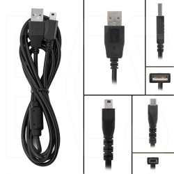 ECS KP-22 USB Olympus Compatible Download Cable