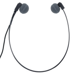 ECS WHUCUSB-A Antimicrobial WordHear-O USB Under-chin Transcription Headset