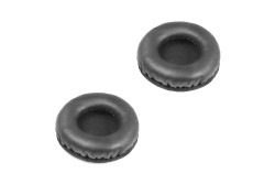 ECS OHLC  Replacement Leatherette Ear Cushions Replacement for WordSlinger Overhead Headsets - New