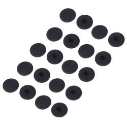 ECS Dictaphone 878860 Transcriber Headset Antimicrobial Ear Cushions (10 pair) - New