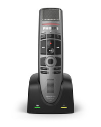 Philips SMP4000 SpeechMike Premium Air Wireless Dictation Microphone - Push Button