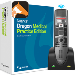 Nuance® Dragon® Medical Practice Edition 4 with Dragon Veterinary and Philips SMP4010