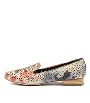 ALLOUT Loafers in Beige/Multi Leather