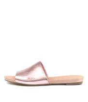 JALLAS Sandals in Pink Metallic Leather