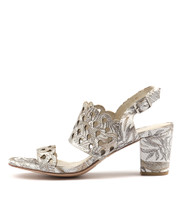 CARINE Heeled Sandals in Ombre/ Multi Leather