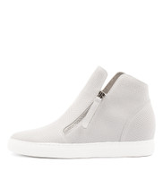 GISELE Sneakers in White Leather