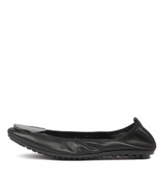 BRIPES Ballet Flats in Black Leather