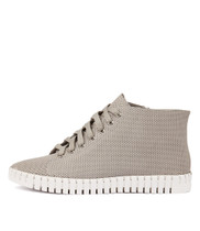 HAYWARD Lace-up Sneakers in Misty Leather