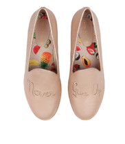 ALFREED Flats in Nude/ Rose Gold Leather