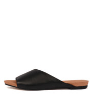 JERICA Sandals in Black Leather