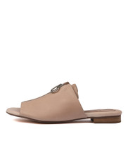 PRECIOUS Sandals in Nude Leather