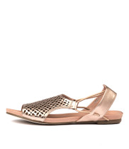 JADELIKE Sandals in Rose Gold Leather
