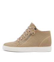 GIAZZA Sneakers in Nude Leather