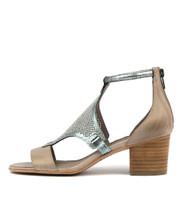 MAREN Heeled Sandals in Misty Leather