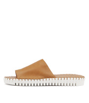 HARDING Sandals in Tan Leather