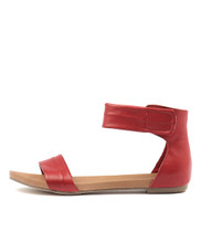 JUZZ Sandals in Red Leather