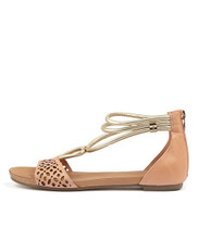 JOHAN Sandals in Cantaloupe Leather