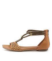 JOHAN Sandals in Tan Leather