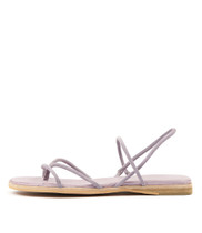 TENJI Sandals in Lilac Suede