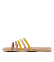 TATALY Sandals in Ombre Multi Suede
