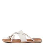 TANIELA Sandals in White Leather