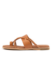 TANIELA Sandals in Tan Leather
