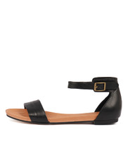 JERE Sandals in Black Leather