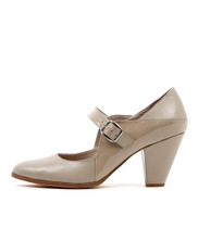 CALMING High Heels in Putty Leather