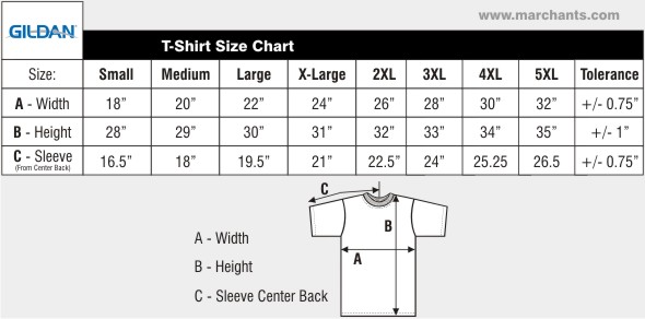 Bmfa gildan heavy cotton ladies tshirt 8 8oz black for Gildan brand t shirt size chart