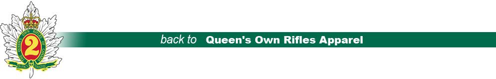 Queen's Own Rifles Apparel