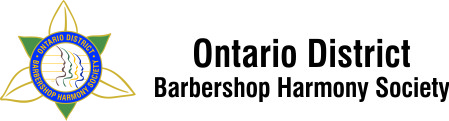 Ontario District Barbourshop Harmony Society