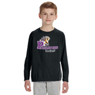 TCP Gildan Performance  Youth Long Sleeve T-Shirt - Black
