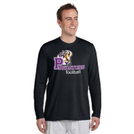 TCP Gildan Performance  Men's Long Sleeve T-Shirt - Black