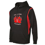 WMF ATC™ Adult Ptech Fleece VarCITY Hoodie - Black/Red