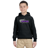 TCA Gildan Youth Heavy Blend Hoody - Black
